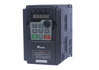 0.5HP / 0.4KW VFD Variable Frequency Drive Tần số cao 3AC Modular Design